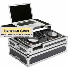 Flight Case Para Ddj Ergo C/ Plataforma Deslizante Notebook