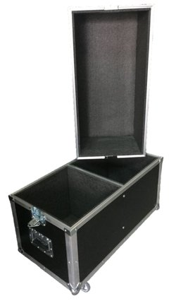 Flight Case Duplo Para Mackie Srm 450