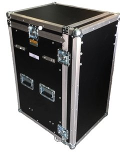 Road Case Rack 12u E Mesa Com Gaveta