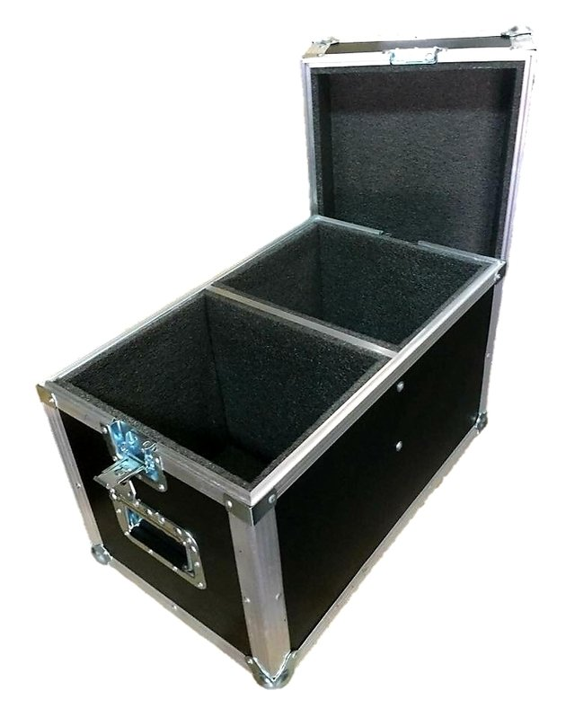 Flight Case Duplo Para Jbl Eon 510