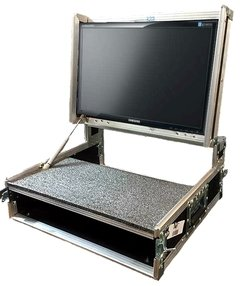 Case Para Monitor Video Com Tampa Retratil - comprar online