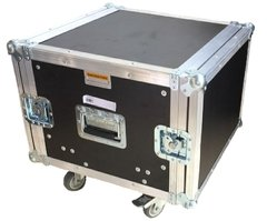Road Case Rack 6u Prof. 40 Com Rodas