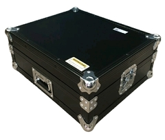 Flight Case Para Technics Mk2 Black cromo