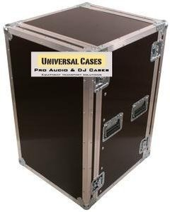 Road Case Rack 18u C/ Rodas