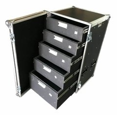 Road Case Gaveteiro 20u