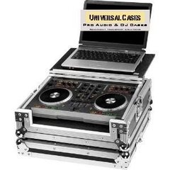 Flight Case Para Mixtrack Pro Plataforma Deslizante Notebook