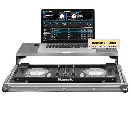 Flight Case Para Mixtrack Pro3 Plataforma Desliz. Notebook