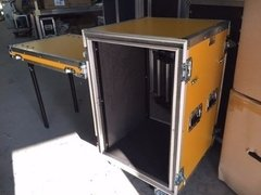 Road Case Rack 16u C/ Amortecimento
