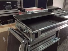 Imagem do Flight Case Para Ns7 2 C/ Plataforma Notebook.
