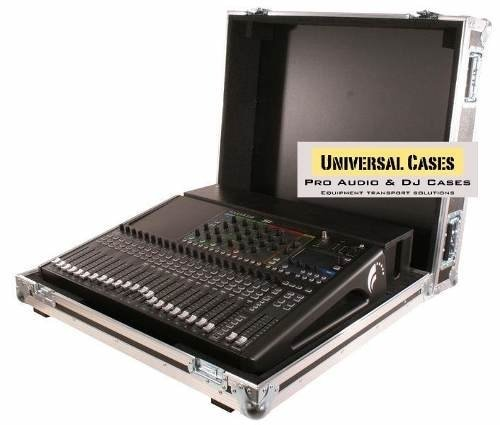 Road Case Para Soundcraft Si Expression 2 com cablebox