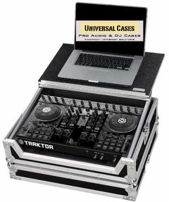 Flight Case Para Traktor S4 C Plataforma Deslizante Notebook