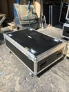 Road Case Para Par Slim 10 Unidades + Compartimento Later
