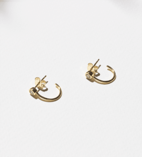 TINY HOOPS CANNES ORO - comprar online