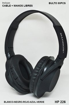 Auricular Madison HP 226 - Federal Stock S.A.