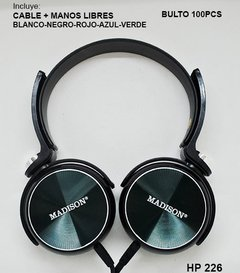 Auricular Madison HP 228 - comprar online