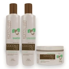 KIT HOME CARE COCONUT OIL KOPENHAIR