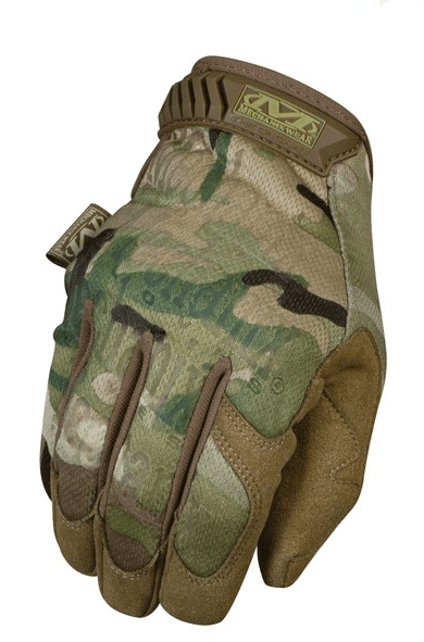 GUANTES ORIGINALES TACTICOS MULTICAM MECHANIX TAMAÑO L