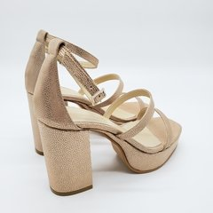 Sandalias Newport  beige/cobre - Estocolmo and Co.