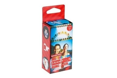 Filme Lomography 3 Rolos Color Negative Iso 100 35mm 36poses - comprar online