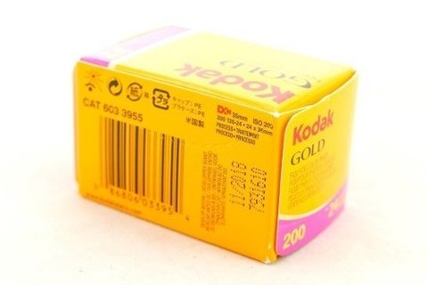Filme 35mm Kodak Gold Iso 200 Color Negative 24 Poses - comprar online