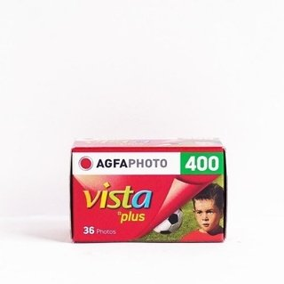 Agfa Vista Plus Iso 400 36 Poses Rolo De Filme 35mm