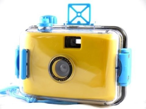 Lomo Aquapix Yellow Camera Aquática Analógica De Filme 35mm na internet