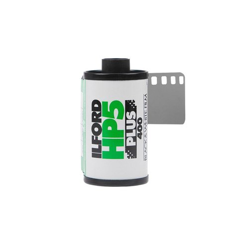 Rolo De Filme 35mm Ilford Hp5 Plus Iso 400 36 Poses B&w P&b - comprar online