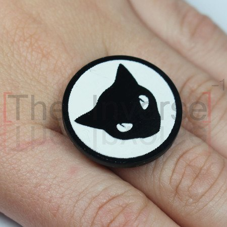Anel Black Cat Simple - buy online