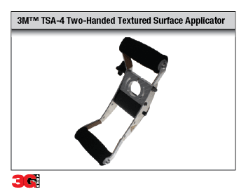 TSA-4 Two-Handed Textured Surface Applicator