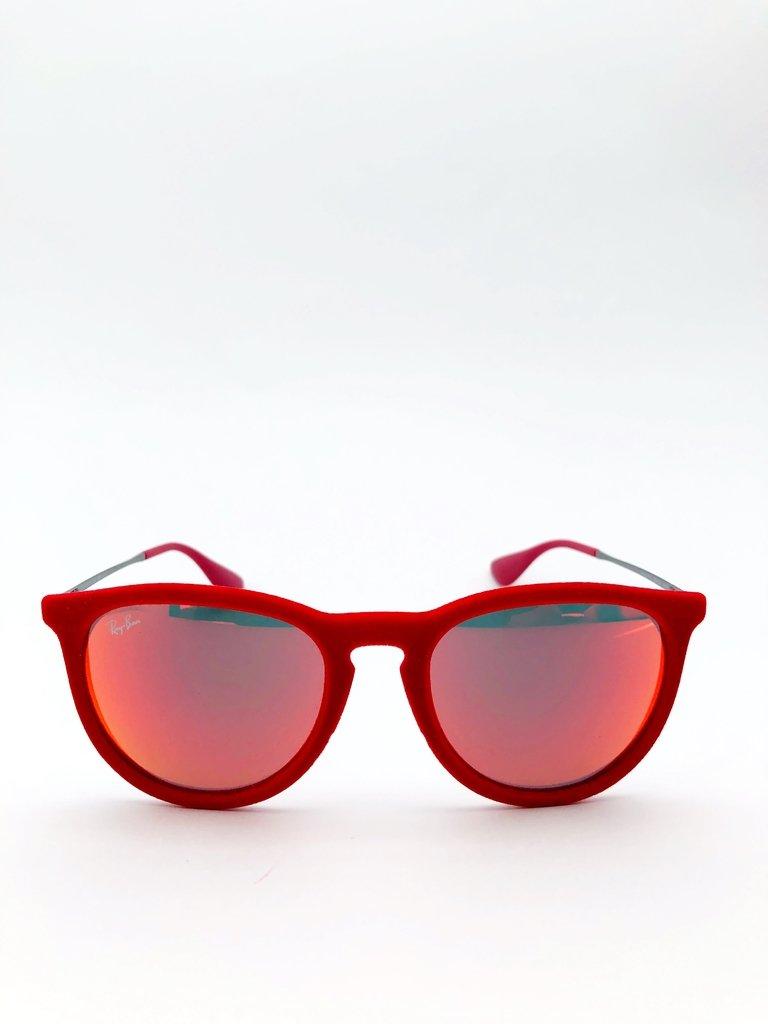 Ray Ban RB 4171 ERIKA - Óculos de Sol de Veludo Vermelho - ca36712b7d