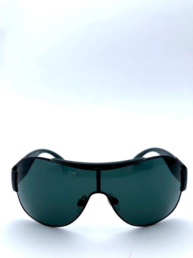 Chanel - Óculos de Sol Modelo 4136 Aviator Pilot Round Preto ebfe051fb8