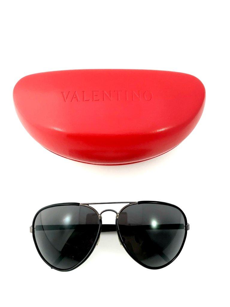 Valentino - Óculos de Sol 1183 G S V81E5 63 Modelo Aviador 1a74167a4c