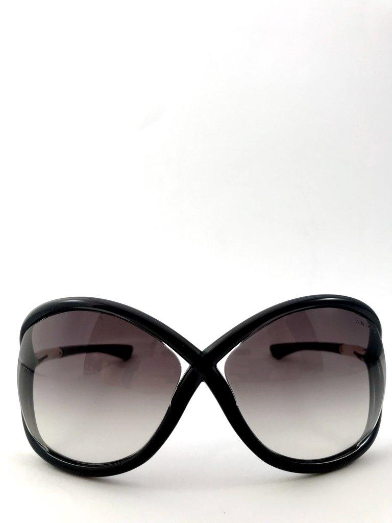 8511cf76a8ca6 Tom Ford - Óculos de Sol modelo Whitney TF9B564 Marrom escuro