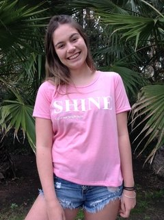 Remera SHINE en internet