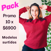 PACK X 10 SWEATER TACHAS (unidad $790)