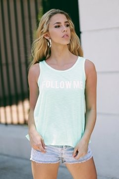 Musculosa FOLLOW ME