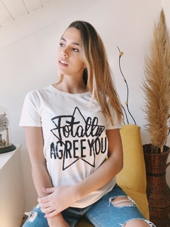 Remera AGREE YOU - Vintage