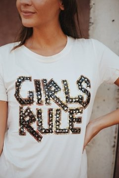 Remera GIRLS RULES vtb6-3 - comprar online