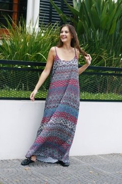 Vestido largo KUKI guardas