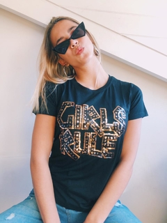 Remera GIRLS RULES vtb6-3 - Vintage