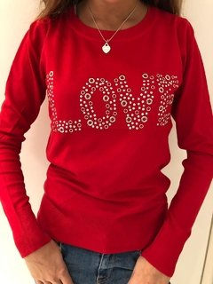 Sweater lycra LOVE TACHAS - Vintage
