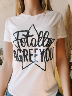 Remera AGREE YOU - tienda online