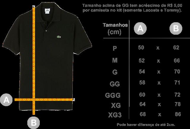 1f0fa69883984 KIT 03 Camiseta polo - Dudalina (100% Piquet - Cores variadas)