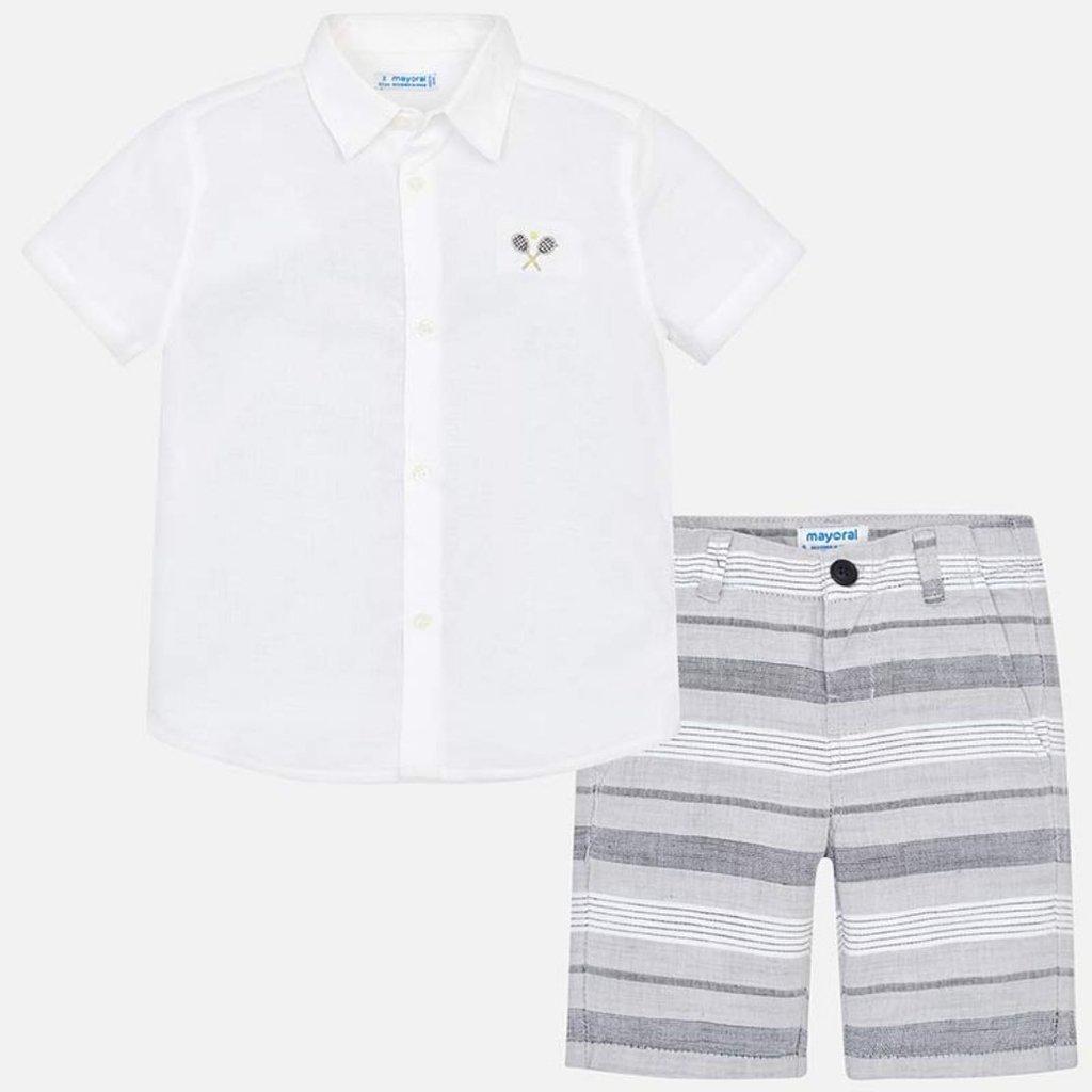 Y Conjunto Rayas Camisa Bermudas Rayas Camisa Bermudas Conjunto Y VSqUzGMp