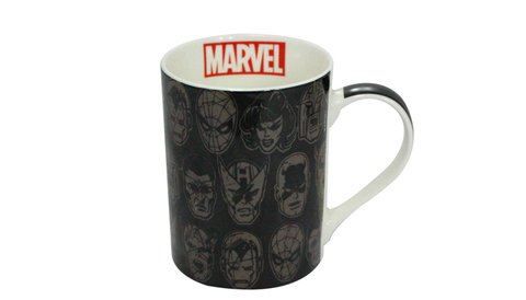 Caneca marvel faces
