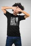 Camiseta Negra LATINOSCOPIO