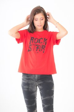 "Remera ""Rock Star· 9060819014 en internet"
