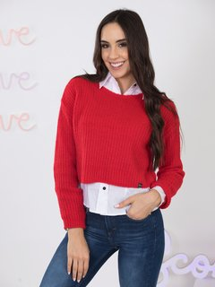 Sweater corto 9035119005 - scombro