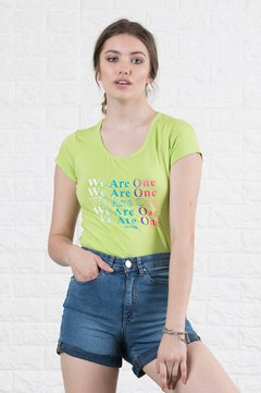 Remera - We are one - 9060820032 - comprar online