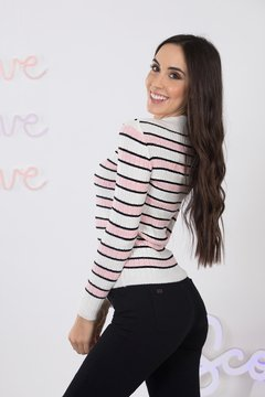 Sweater fino Rayado 9035119007 en internet